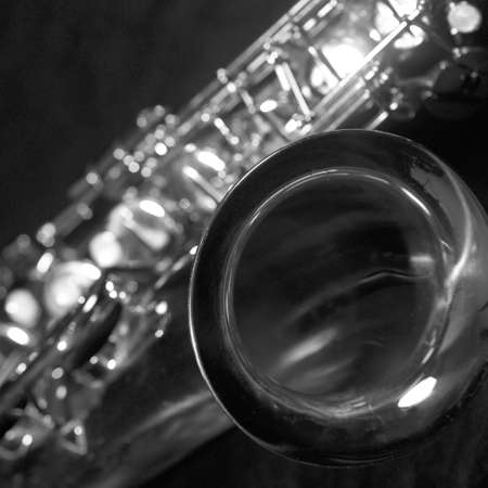 tuneful: Saxophone Stock Photo