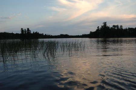 Lake of the Woods at twilight Stock Photo - 254576
