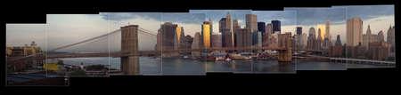 Vista panorámica de Manhattan, Ciudad de Nueva York  Foto de archivo - 296666