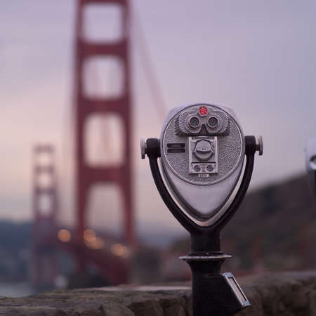 finders: San Francisco, California, U.S.A.. Viewfinder . Stock Photo