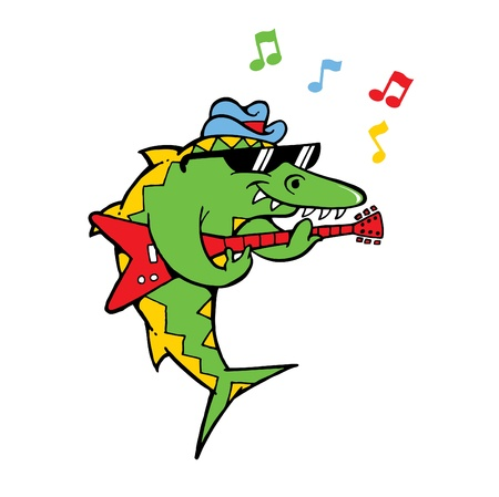 Rocking Fish Stock Vector - 10788612