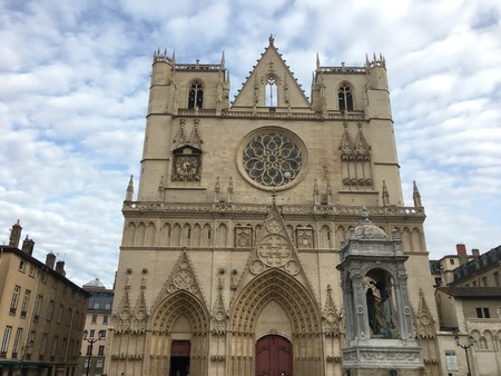 Roman Catholic Cathedral of Saint-Jean in Lyon France