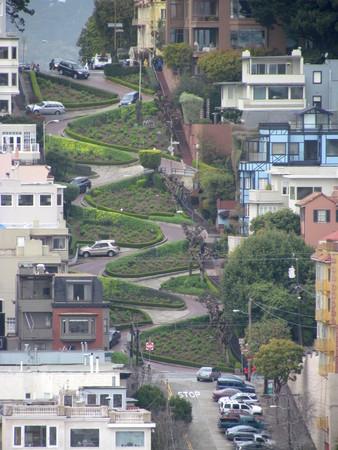샌프란시스코 캘리포니아 미국에서 롬 바르 드 거리의 공중보기