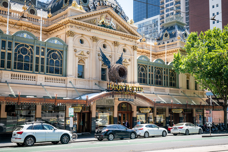 4th January 2019, Melbourne Australia: Princess theatre with Harry Potter and the Cursed Child play in Melbourne Australia