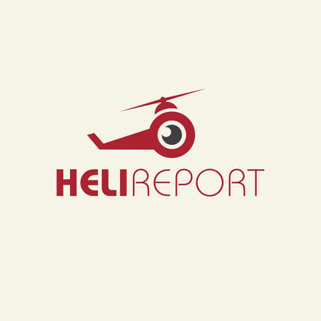 heli: icon for aerial photography and video