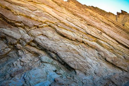 wall of the painted canyon Фото со стока
