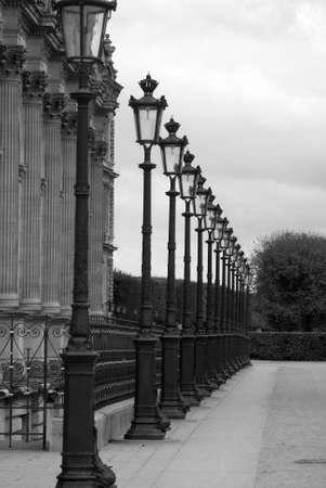 streetlights: Streetlights in Paris