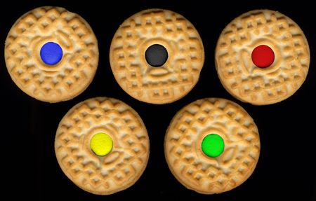 sports competition cookies Stock Photo - 2664609