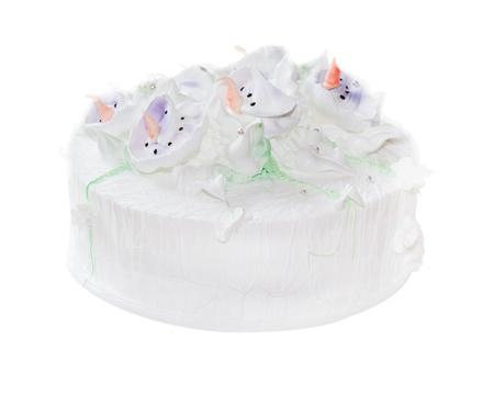 fresh whipped cream cake photo