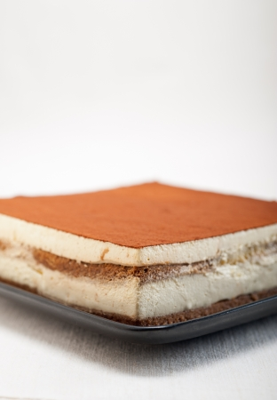 classic Italian tiramisu dessert fresh home made  Stock Photo - 19413067