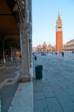 Venice Italy Saint Marco square pittoresque view photo