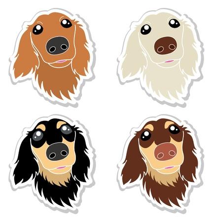 perro familia: Perros Vectores