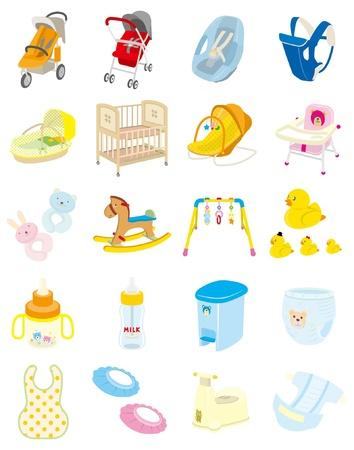 crib: Baby goods