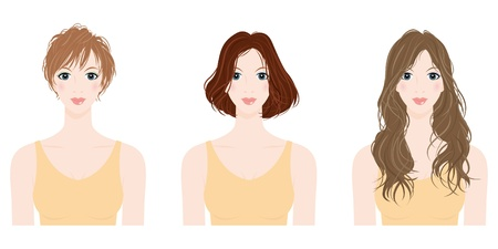 woman Hairstyle Stock Vector - 12135582