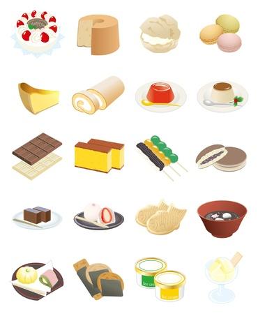 さまざまなお菓子