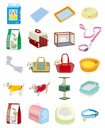 Pet Supplies Vector