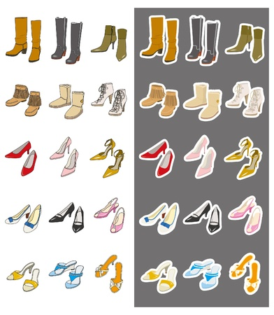 Fashion / Shoes Vector