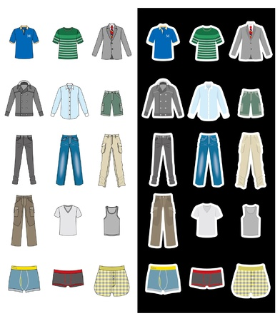 Fashion / Man Stock Vector - 12218920