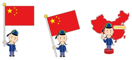 national hero: China  Chinese history Illustration
