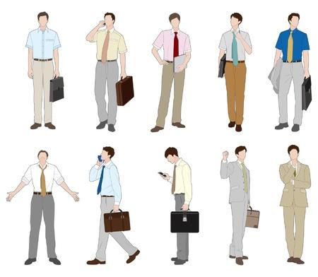 rookie: Businessman  summer Illustration