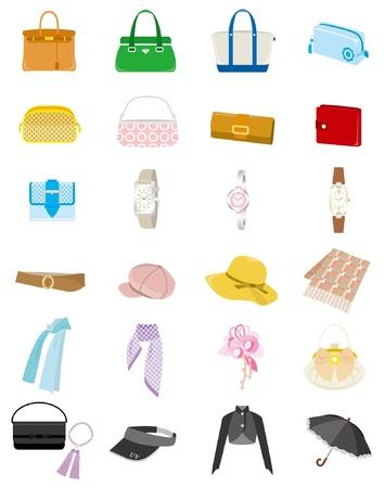 sciarpe: Moda  Donna Vettoriali