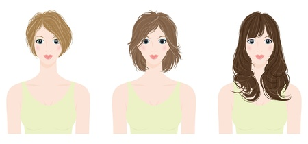 girl short hair: Hairstyle  Woman