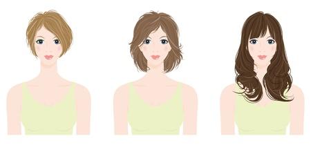 long hair woman: Peinado  Mujer