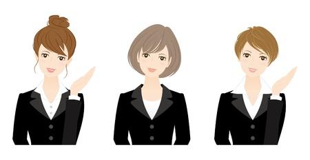 uniformes de oficina: Mujer de negocios