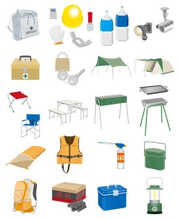 catastrophe: Mat�riel de camping