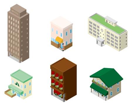 建物のモデル 写真素材 - 12219590