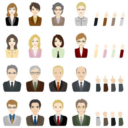 caballeros: Los empresarios o empresarias  Jefe