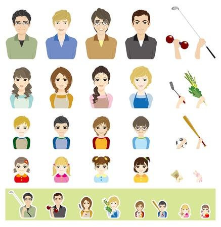 Family / Face