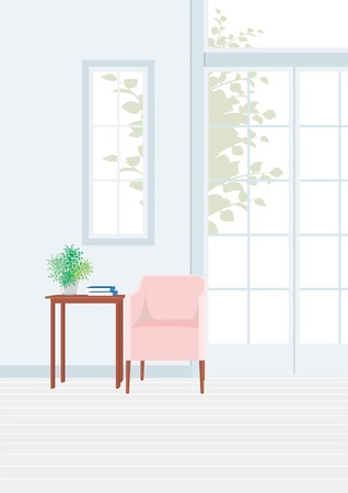 Room with a window