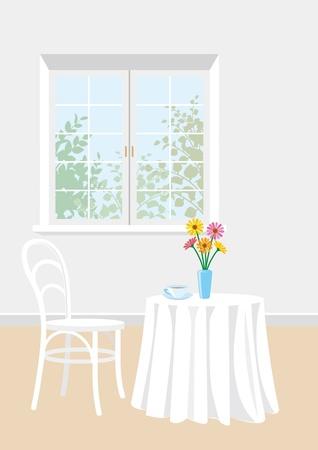 comfort room: Tea Time