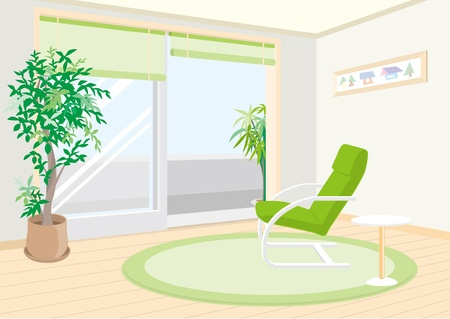 livingroom: Living room Illustration