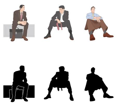 unemployment: Hombre de negocios