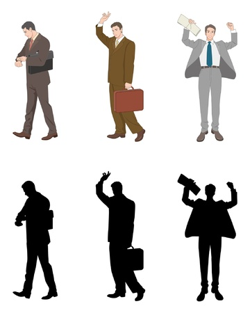 new recruits: Businessman Illustration
