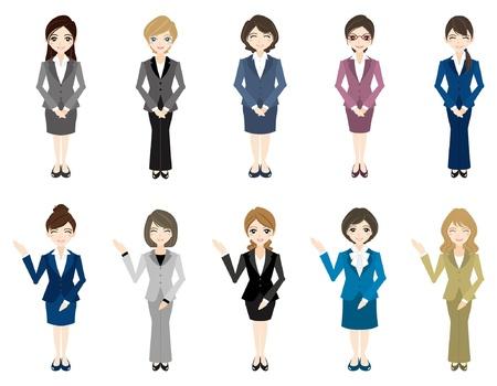 femme d affaire asiatique: Femme d'affaires