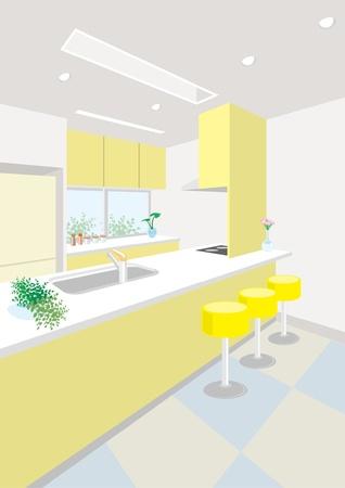 lifestyle dining: kitchen