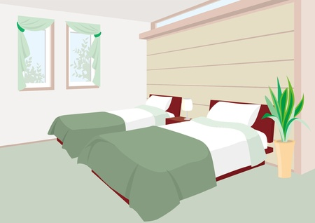 hotel rooms: Bedroom