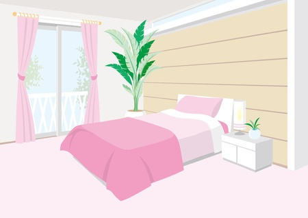Bedroom Stock Vector - 12397923