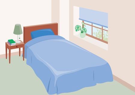 western style room: Bedroom