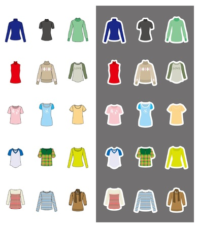 Fashion / Woman / Clothes Stock Vector - 12397979