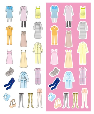Fashion / Woman / Clothes Stock Vector - 12397986