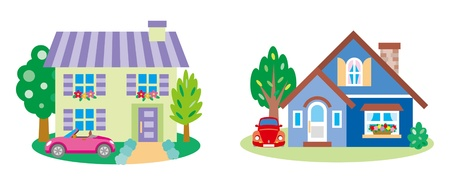 Lovely house Stock Vector - 12495728