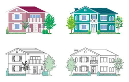 housing estate: House