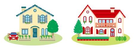 Lovely house Stock Vector - 12495731