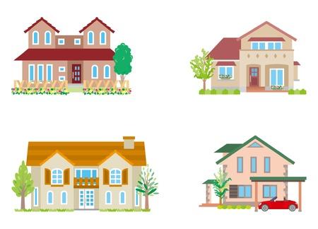 model houses: House