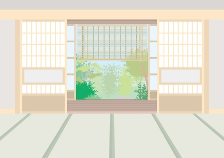 Japanese Style Vector