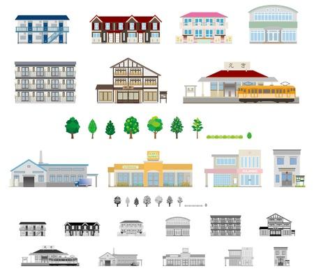 escuela edificio: <Building  Negocios>